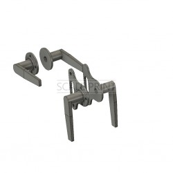 Set of door handles, BK 117