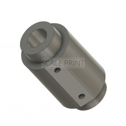 Adapter round 5mm / square 6mm