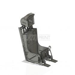 Schleudersitz Panther F9F, universal, (Bausatz ohne Polster)