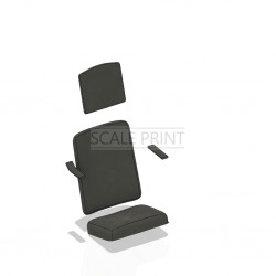 Uphoilstery for T33 ejection seat (0432-0432)