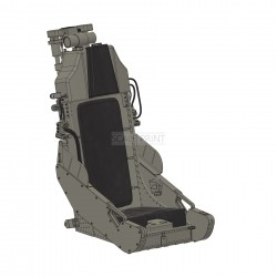 Ejection Seat F-5 Tiger, (excl. upholstery), up to scale 1:4.2 as assembly set