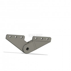 8 pieces of dummy flap hinges, Panther F9F