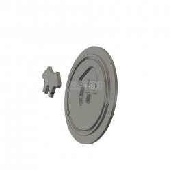 Fuel Cap Hughes 500, small
