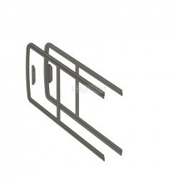 Schiebefensterrahmen links und rechts, Lama / Alouette II