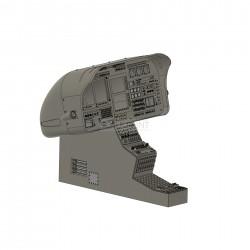 Armaturenkonsole EC 130 komplett mit Montagerahmen,...