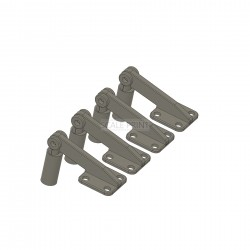 $ pieces of dorr hinges BO 105