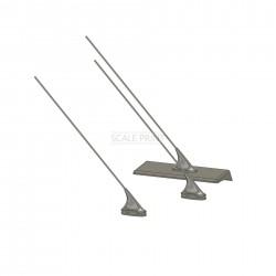 3 pieces of antennas including base, BO 105