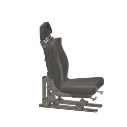 Pilot Seat BO 105 (assembly set)