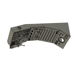 Decken Armaturenpaneel, Sikorski S58