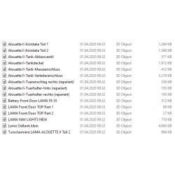 Bestellung 01.04.2020 Alouette II