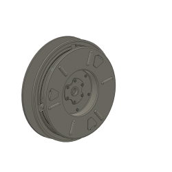 dummy for wheel cover