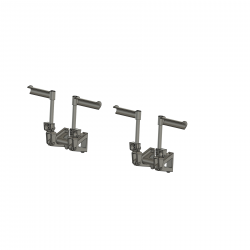 Pedals for Bell UH-1D and Bell 412