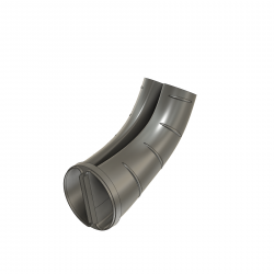 dummy exhaust end pipe, Hughes 500