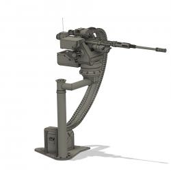 On-Board mashine gun (assembly set)