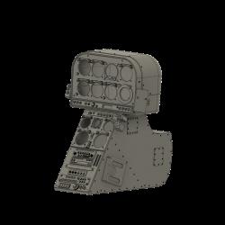 Cockpitkonsole Lama (Bausatz)