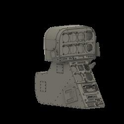 Cockpitkonsole Lama