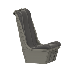 Pilot seat Lama, civil version