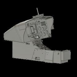 Cockpit AS 350 (assembly set)