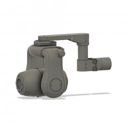 Trakka Beam A800 Scheinwerfer Dummy, universal, Bausatz