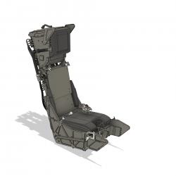 Ejection seat Alpha Jet (assembly set)