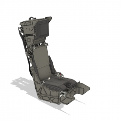 Ejection seat Martin Baker MK 10 Alpha Jet and other (assembly set)