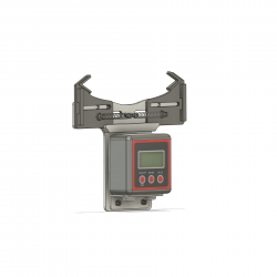 Pitch gauge with digital angle meter