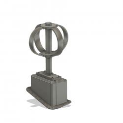 SATCOM Antenne Apache