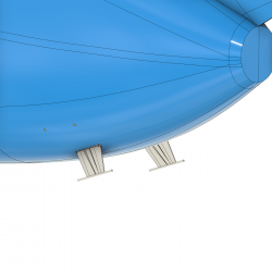 aft antennas under fuselage, Hughes 500