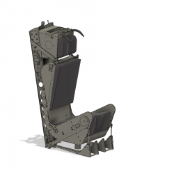 Ejection seat Martin Baker MK2 assembly set (including...