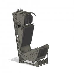 Schleudersitz Martin Baker MK2 (Bausatz) mit Polster