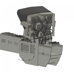 Cockpit (Bausatz) BO 105