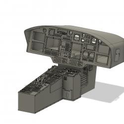 Cockpit H 155 (assemblyset)
