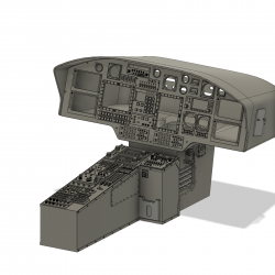 Cockpit H 155 (Bausatz)