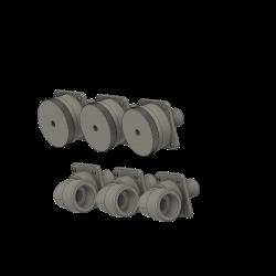 socket dummys (6 pairs)