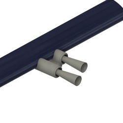 Pitot tube Corsair, middle wing position