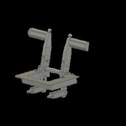 Pedals EC 145 / H155 full scale
