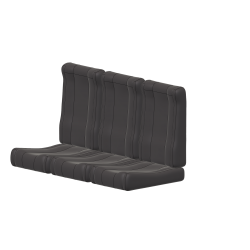 Cushions back seat Gazelle SA 342