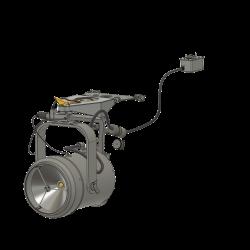 Spectrolab für Lama mit Tragegestell (Bausatz)
