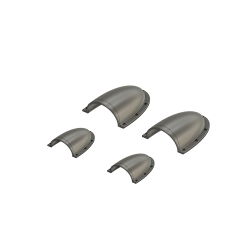 Air in scoops on roof, Bell 204-205