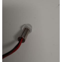 Red LED light for position lights and flash lights