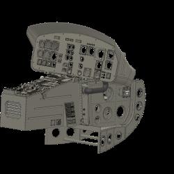 Cockpit Bell 204 (assembly set)