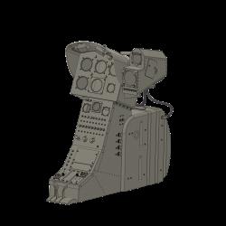 Cockpit Alouette II Militärversion