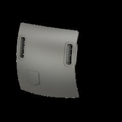 Air-in slots and flap BO105 at nose