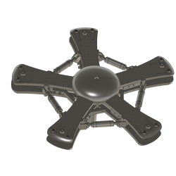 rotor head cover with