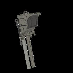 Kopfstütze für Martin Baker MK10 Schleudersitz (ohne...