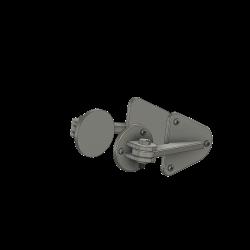 Türbeschläge Bügel und Tritt KA 50 (Dummys)