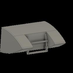 Ladder at wheel housing, CH53
