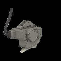 carrier hook with inside Servo