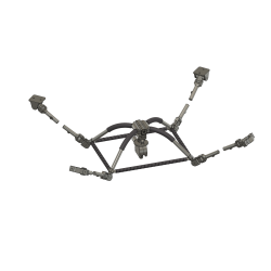 carrier hook support AS 350 (dummy)