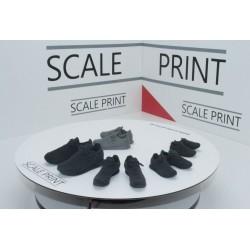 Turnschuh aus Gummi gedruckt